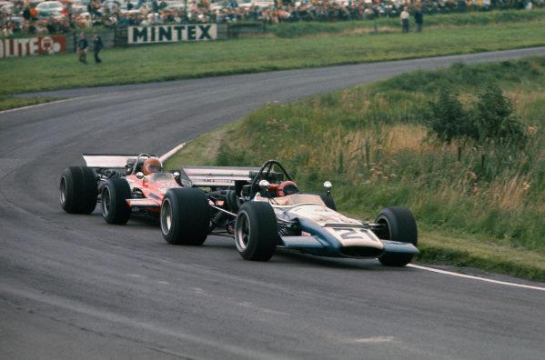 1970 International Gold Cup.  Oulton Park, Cheshire, England. 22nd August 1970.  David Prophet, McLaren M10B Chevrolet.  Ref: 70GC09. World Copyright: LAT Photographic