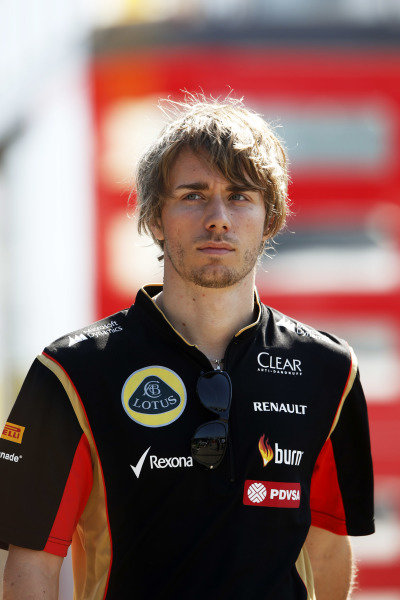 Circuit de Catalunya, Barcelona, Spain. Friday 9 May 2014. Charles Pic, Reserve Driver, Lotus F1 Team. World Copyright: Charles Coates/LAT Photographic. ref: Digital Image _N7T8334
