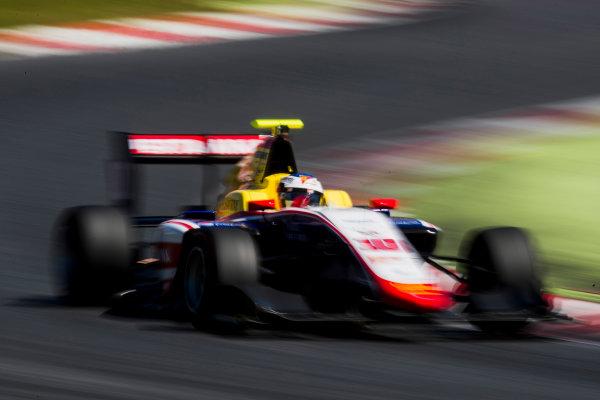 2016 GP3 Series Test 2. Circuit de Catalunya, Barcelona, Spain. Thursday 20 April 2017. Giuliano Alesi (FRA, Trident)  Photo: Zak Mauger/GP3 Series Media Service. ref: Digital Image _56I5581