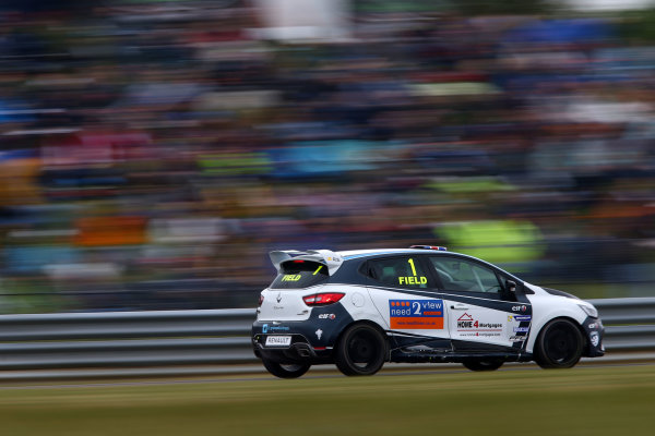 2017 Renault Clio Cup Thruxton, 6th-7th May 2017,  Graham Field (GBR) JamSport Racing Renault Clio Cup World copyright. JEP/LAT Images