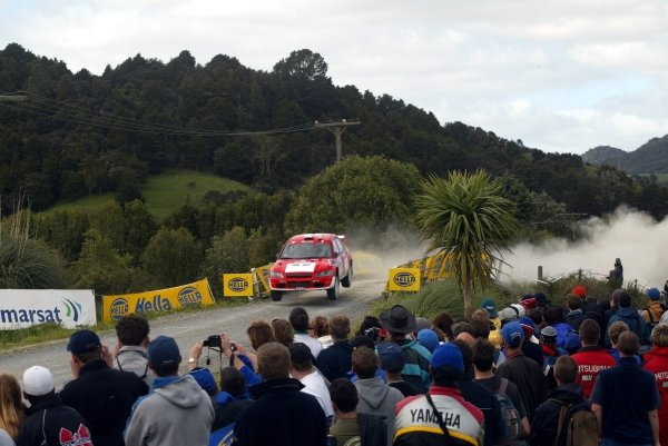 Fia World Rally Championship, Rd12, Rally of New Zealand. 05 October 2002.DIGITAL IMAGE