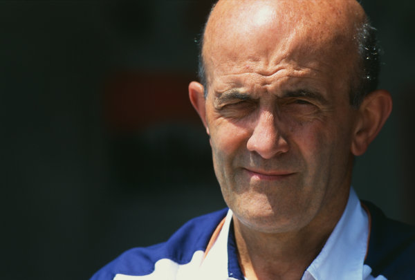 Brian Hart, Formula One Engine Supplier, portrait.  World Copyright: LAT Photographic. Ref:  Colour Transparency.