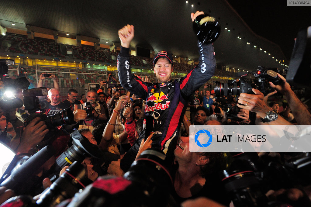 Buddh International Circuit, New Delhi, India.