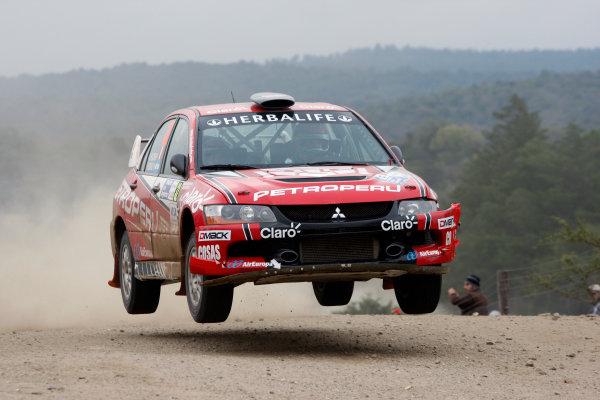 Round 05, Rally Argentina26th - 29th April 2012Nicolas Fuchs, Mitsubishi, actionWorldwide Copyright: McKlein/LAT