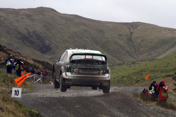 Round 13Wales Rally GB 11-14 October 2010Matthew Wilson, Ford WRC, ActionWorldwide Copyright: McKlein/LAT
