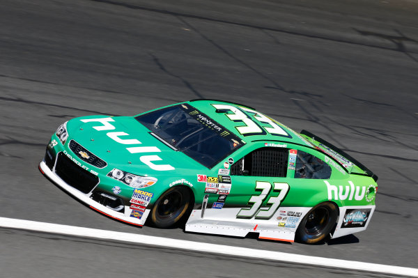 Monster Energy NASCAR Cup Series Bank of America 500 Charlotte Motor Speedway, Concord, NC Friday 6 October 2017 Jeffrey Earnhardt, Circle Sport / TMG, hulu Chevrolet SS World Copyright: Matthew T. Thacker LAT Images