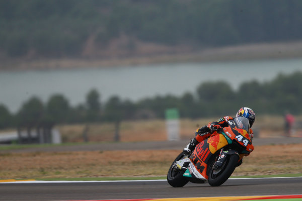 2017 Moto2 Championship - Round 14 Aragon, Spain. Friday 22 September 2017 Miguel Oliveira, Red Bull KTM Ajo World Copyright: Gold and Goose / LAT Images ref: Digital Image 693623