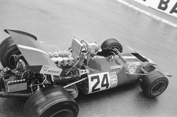1970 Monaco Grand Prix. Monte Carlo. 10 May 1970. Piers Courage (Frank Williams Racing De Tomaso 505/38-Ford Cosworth). Ref-3062 #27A. World Copyright - LAT Photographic