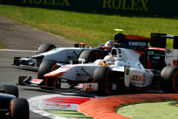 2014 GP2 Series. Round 9.   Autodromo di Monza, Monza, Italy.  Sunday 7 September 2014. Arthur Pic (FRA, Campos Racing)  Photo: Sam Bloxham/GP2 Series Media Service. ref: Digital Image _SBL3086