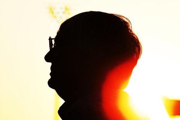 Bernie Ecclestone (GBR) CEO Formula One Group (FOM). Formula One World Championship, Rd18, Abu Dhabi Grand Prix, Preparations, Yas Marina Circuit, Abu Dhabi, UAE, Thursday 1 November 2012.
