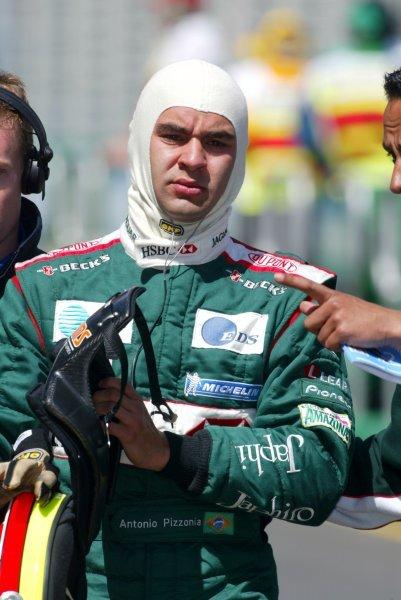 Antonio Pizzonia (BRA) Jaguar Formula One World Championship, Rd1, Australian Grand Prix, Albert Park, Melbourne, Australia, 8 March 2003.DIGITAL IMAGE