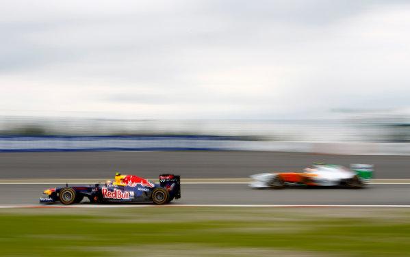 Nurburgring, Germany22nd July 2011Mark Webber, Red Bull Racing RB7 Renault. Action. World Copyright: Glenn Dunbar/LAT Photographicref: Digital Image _G7C3118