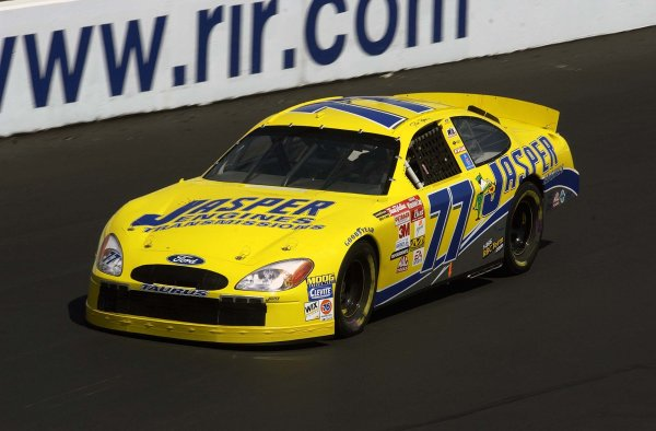2002 NASCAR,Richmond Intl. Raceway,Sept 06-07, 20022002 NASCAR, Richmond,Va . USA -Dave Blaney rounds the track in his backup car claiming the 3rd place in qualifying,Copyright-Robt LeSieur2002LAT Photographic