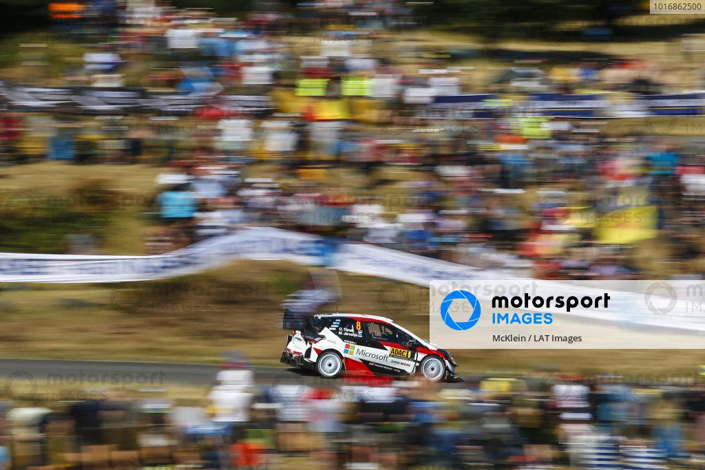 Ott Tanka in a class of his own on Rallye Deutschland