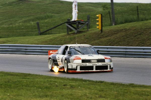 Hurley Haywood / Scott Goodyear, Audi 90 quattro.