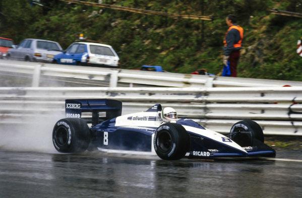 Andrea de Cesaris, Brabham BT56 BMW.