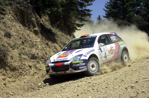 2001 World Rally Championship.Acropolis Rally June 14-17, 2001.Colin McRae on stage 4 during leg one.Photo: Ralph Hardwick/LAT