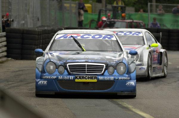 DTM Norisring 2000.Norisring, Germany. 7th - 9th July 2000.Marcel Tiemann.World - Hardwick / LAT Photographic