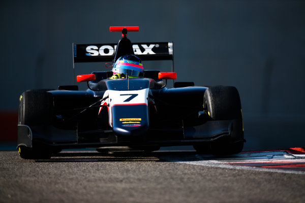 2017 GP3 Series Test 5. Yas Marina Circuit, Abu Dhabi, United Arab Emirates. Thursday 30 November 2017. Ferdinand Habsburg (AUT, Arden International).  Photo: Joe Portlock/GP3 Series Media Service. ref: Digital Image _L5R2342