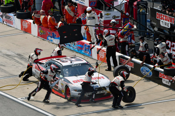 NASCAR Xfinity Series ToyotaCare 250 Richmond International Raceway, Richmond, VA USA Saturday 29 April 2017 Ryan Blaney, Discount Tire Ford Mustang World Copyright: Nigel Kinrade LAT Images ref: Digital Image 17RIC1nk08794