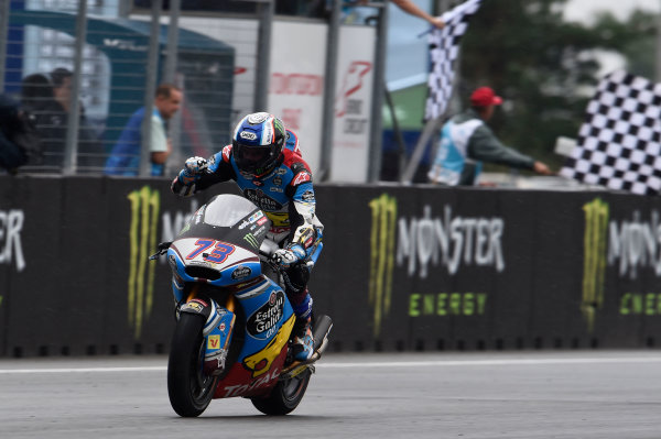 2017 Moto2 Championship - Round 10 Brno, Czech Republic Sunday 6 August 2017 Second place Alex Marquez, Marc VDS World Copyright: Gold and Goose / LAT Images ref: Digital Image 50868