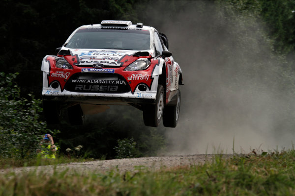 Round 08-Neste Rally Finland 1/8-4/8 2012.Evgeny Novikov, Ford WRC, Action.Worldwide Copyright: McKlein/LAT