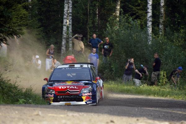 Round 08Rally Finland 29-31 July 2010Dani Sordo, Citroen WRC, PortraitWorldwide Copyright: McKlein/LAT
