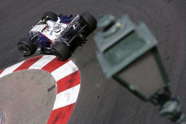 2007 Monaco Grand Prix - Thursday PracticeMonte Carlo, Monaco.24th May 2007.Robert Kubica, BMW Sauber F1 07. Action. World Copyright: Lorenzo Bellanca/LAT Photographic.ref: Digital Image ZD2J9759