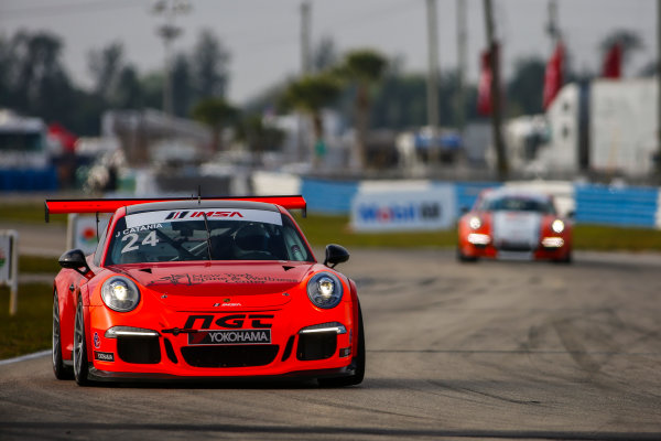 16-18 March, 2016, Sebring, Florida, USA 24, Joe Catania, Platinum, M, 2014 Porsche ?2016, Jake Galstad LAT Photo USA