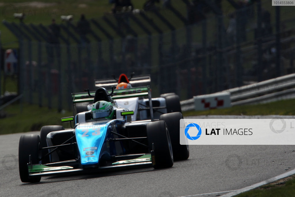 2016 BRDC British Formula 3 Championship, Brands Hatch, Kent. 16th - 17th April 2016. Thomas Maxwell (AUS) Sean Walkinshaw Racing BRDC F3. World Copyright: Ebrey / LAT Photographic.