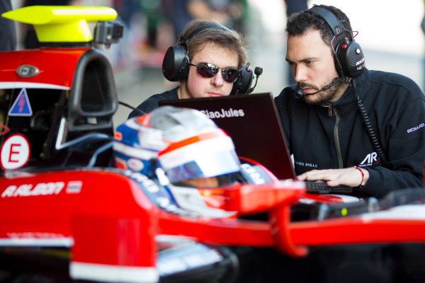 Circuit de Barcelona Catalunya, Barcelona, Spain. Wednesday 15 March 2017. Alexander Albon (THA, ART Grand Prix). Photo: Alastair Staley/FIA Formula 2 ref: Digital Image 585A0249