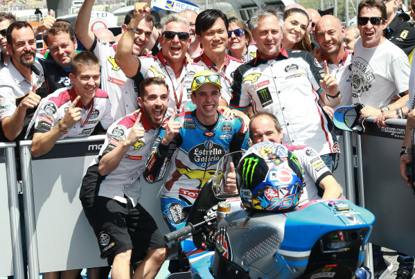 2017 Moto2 Championship - Round 4 Jerez, Spain Sunday 7 May 2017 Race winner Alex Marquez, Marc VDS World Copyright: Gold & Goose Photography/LAT Images ref: Digital Image 668728