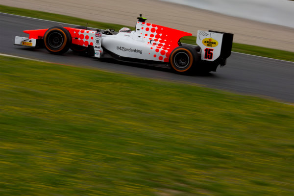 Circuit de Barcelona Catalunya, Barcelona, Spain. Monday 13 March 2017. Jordan King (GBR, MP Motorsport). Action.  Photo: Alastair Staley/FIA Formula 2 ref: Digital Image 580A9540