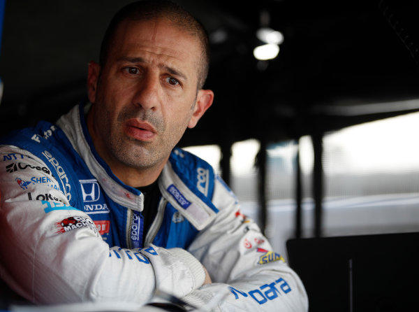 2017 IndyCar Media Day - Track Action Phoenix Raceway, Arizona, USA Friday 10 February 2017 Tony Kanaan World Copyright: Michael L. Levitt/LAT Images ref: Digital Image _01I0397