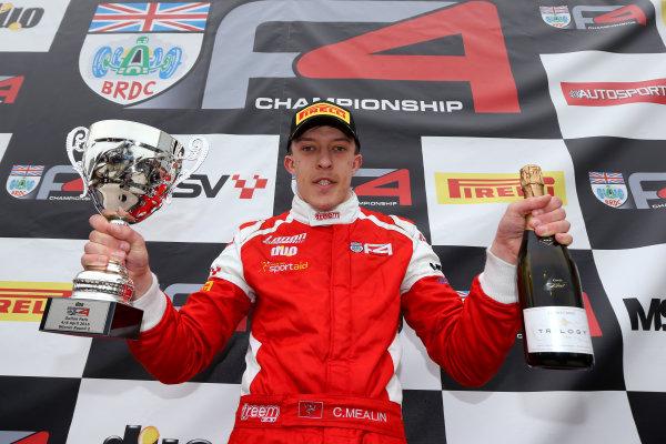 2015 BRDC Formula 4 Championship, Oulton Park, Cheshire. 4th - 6th April 2015. Chris Mealin (GBR) Lanan Racing BRDC F4. World Copyright: Ebrey / LAT Photographic.