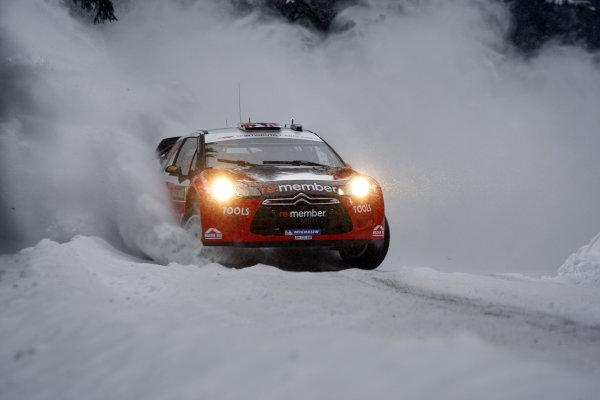 Round 01-Rally Sweden. 10th-13th February 2011.Petter Solberg, Citroen WRC, ActionWorldwide Copyright: McKlein/LAT