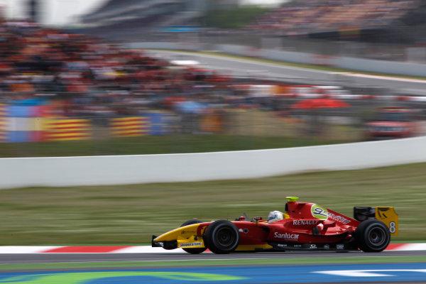 Circuit de Catalunya, Spain. 9th May 2010. Sunday Race.Christian Vietoris (GER, Racing Engineering). Action Photo: Andrew Ferraro/GP2 Media Service.Ref: _Q0C3092 jpg