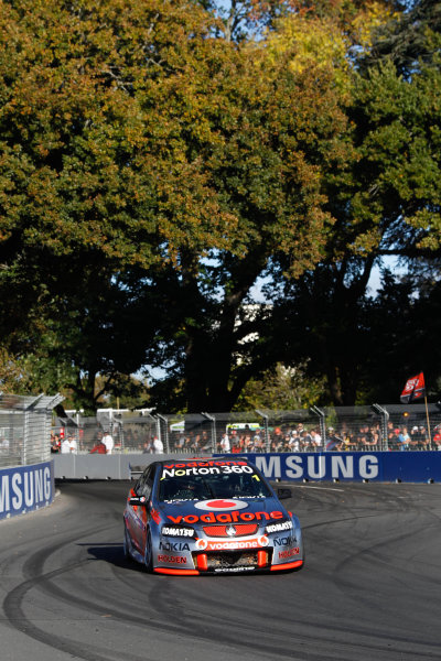 Round 4 - Hamilton 400.Hamilton City Street Circuit, Hamilton, New Zealand.17th - 18th April 2010.Car 1, Jamie Whincup, Commodore VE, Holden, T8, TeamVodafone, Triple Eight Race Engineering, Triple Eight Racing.World Copyright: Mark Horsburgh / LAT Photographicref: 1-Whincup-EV04-10-5539