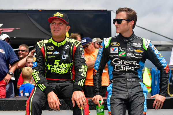29-31 July, 2016, Long Pond, Pennsylvania USA Clint Bowyer, Kasey Kahne ?2016, Logan Whitton  LAT Photo USA