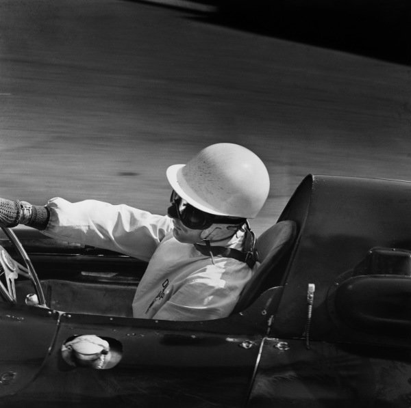 Monte Carlo, Monaco. 10th May 1959.Stirling Moss (Cooper T51-Climax), retired, action. World Copyright: LAT Photographic.Ref: 4026.