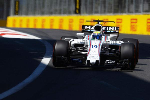 Baku City Circuit, Baku, Azerbaijan. Saturday 24 June 2017. Felipe Massa, Williams FW40 Mercedes.  World Copyright: Steven Tee/LAT Images ref: Digital Image _O3I1860