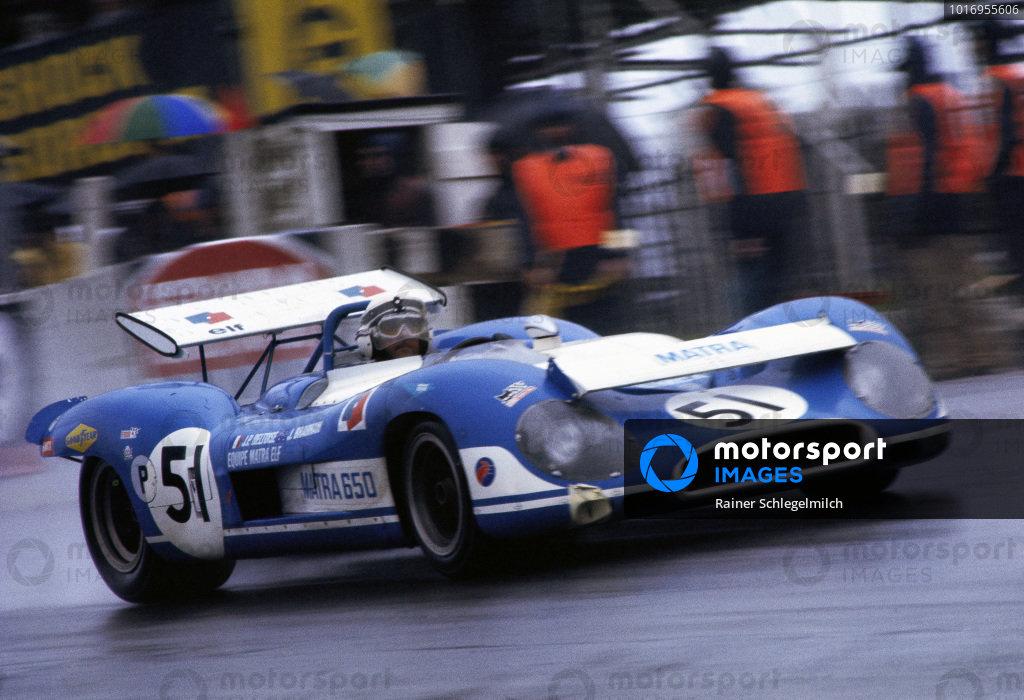 Jack Brabham / Jean-Pierre Beltoise, Equipe Matra-Simca, Matra-Simca MS650.