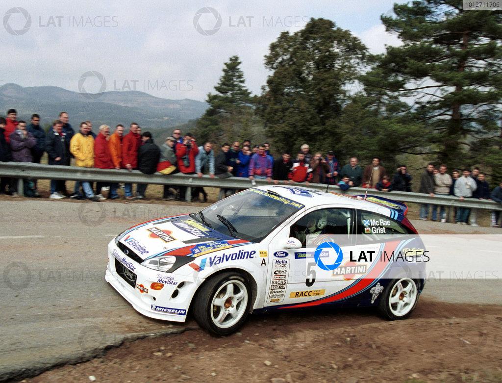 Catalunya 2000 - Colin McRae Ford Focus - action