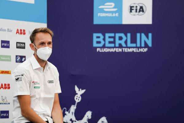 René Rast (DEU), Audi Sport ABT Schaeffler in the press conference
