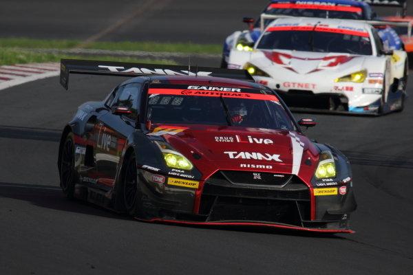 GT300 2nd position Katsuyuki Hiranaka & Hironobu Yasuda, GAINER TANAX Nissan GT-R
