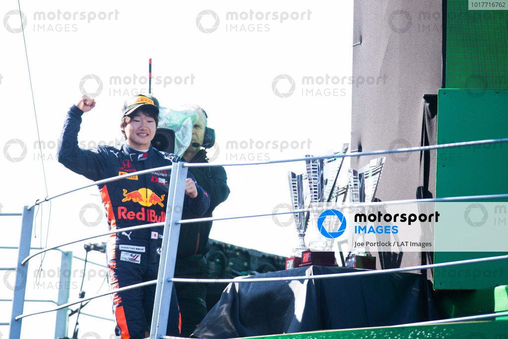 AUTODROMO NAZIONALE MONZA, ITALY - SEPTEMBER 08: Yuki Tsunoda (JPN, Jenzer Motorsport) during the Monza at Autodromo Nazionale Monza on September 08, 2019 in Autodromo Nazionale Monza, Italy. (Photo by Joe Portlock / LAT Images / FIA F3 Championship)