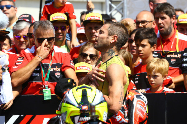 Alvaro Bautista, Aruba.it Racing-Ducati Team .