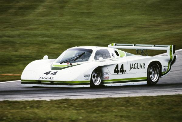 Bob Tullius / Bill Adam, Group 44, Jaguar XJR-5.