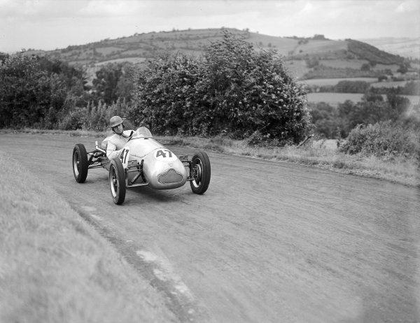 Prescott hillclimb.Ken Wharton (Cooper).Ref-Motor 721/7.World Copyright - LAT Photographic