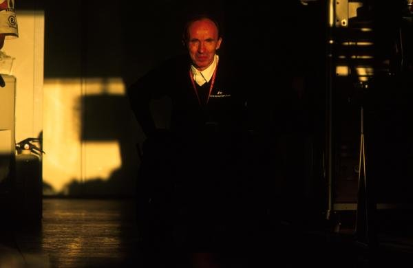 Sir Frank Williams(GBR) Williams Team Boss USA Grand Prix, Indianapolis 30 September 2001 BEST IMAGE